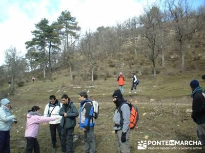 Preparados, listos.... a caminar; excursiones cerca de madrid; valle de la barranca